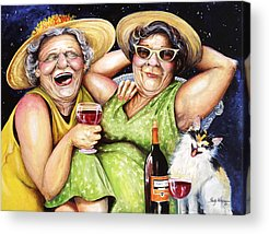 Elderly Acrylic Prints