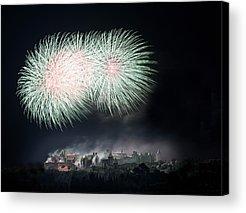 Fireworks Acrylic Prints