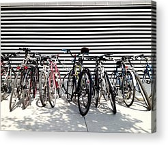 Cycling Acrylic Prints
