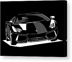 Lamborghini Acrylic Prints