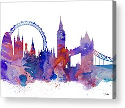 Designs Similar to London by Watercolor Girl