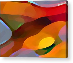 Abstract Forms Acrylic Prints