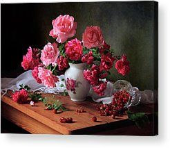 Red Rose Acrylic Prints