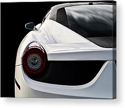 Supercars Acrylic Prints