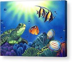 Coral Reef Acrylic Prints