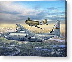C-130 Acrylic Prints