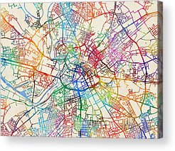 Greater Manchester Acrylic Prints