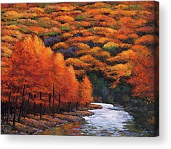 Southern Rocky Mountains Paintings Acrylic Prints
