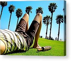Relaxing Photographs Acrylic Prints