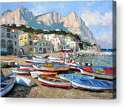 Capri Acrylic Prints