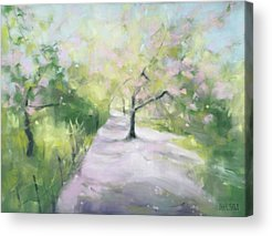 Cherry Blossom Tree Acrylic Prints