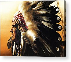 Warrior Acrylic Prints