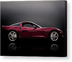Corvette Acrylic Prints