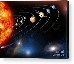 Planet Acrylic Prints