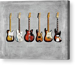 Rock Music Acrylic Prints
