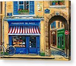 French Landscape Acrylic Prints