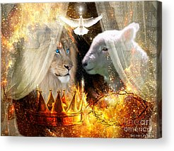 Lamb Of God Acrylic Prints