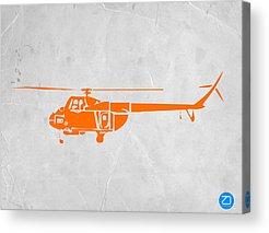 Helicopter Acrylic Prints