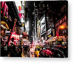 New York Signs Acrylic Prints
