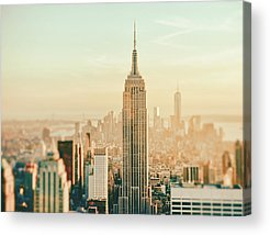 Aerial Photographs Acrylic Prints
