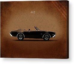 Oldsmobile 442 Acrylic Prints