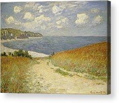 Meadow Paintings Acrylic Prints