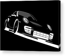 Porsche Acrylic Prints