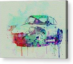 Vintage Porsche Acrylic Prints