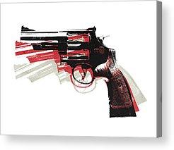 Pistol Acrylic Prints