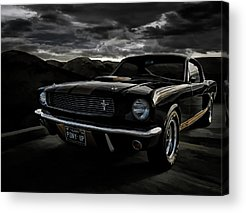Vintage Ford Mustang Acrylic Prints