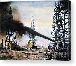 Petroleum Acrylic Prints