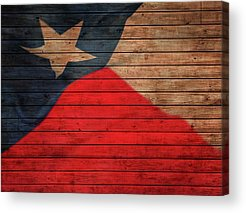 Strong America Mixed Media Acrylic Prints