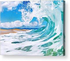 Waves Acrylic Prints