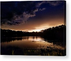 Night Sky Photographs Acrylic Prints