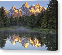 Mountain Peak Acrylic Prints