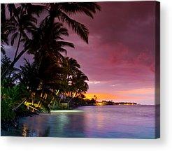 Hawaiian Islands Acrylic Prints