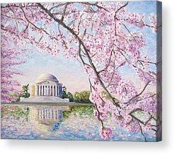 Jefferson Memorial Acrylic Prints