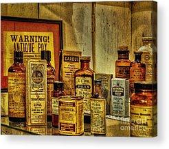 Cough Medicines Acrylic Prints