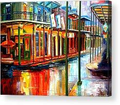 Reflection Paintings Acrylic Prints