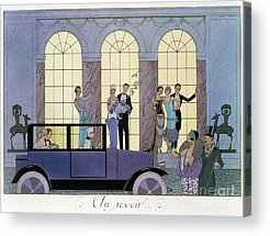 High Society Paintings Acrylic Prints
