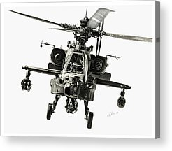 Helicopter Acrylic Prints