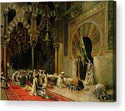 Jihad Paintings Acrylic Prints