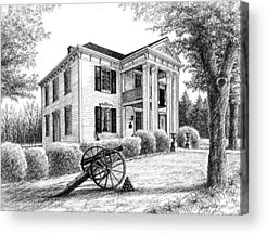 Lotz House Drawings Acrylic Prints