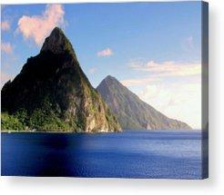 St. Lucia Acrylic Prints