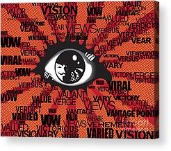 Virus Acrylic Prints
