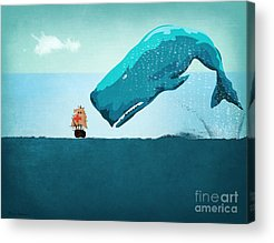 Cartoon Acrylic Prints
