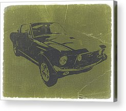 Classic Muscle Cars Acrylic Prints