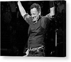 Bruce Springsteen Photographs Acrylic Prints