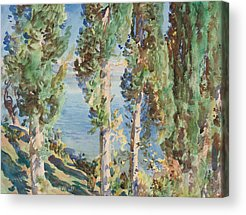 Italian Painters Acrylic Prints
