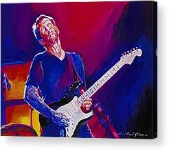 Eric Clapton Cream Acrylic Prints